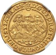 1 Ducat - Georg III, Ludwig IV & Christian – obverse