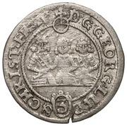 3 Kreuzer - Georg III, Ludwig IV & Christian – obverse