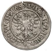 3 Kreuzer - Georg III, Ludwig IV & Christian – reverse