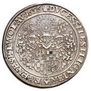 2 Thaler - Georg III, Ludwig IV & Christian -  reverse