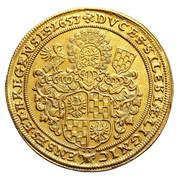 2 Ducat - Georg III, Ludwig IV & Christian – reverse