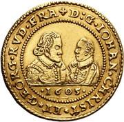 6 Ducat - Johann Christian & Georg Rudolf – obverse