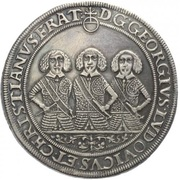 1 Thaler - Georg III, Ludwig IV & Christian – obverse