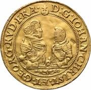 5 Ducat - Johann Christian & Georg Rudolf – obverse