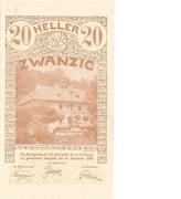 20 Heller (Lilienfeld) -  obverse