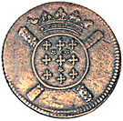 5 Sols (Siege Coinage) – obverse