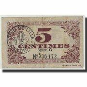 5 centimes - Ville de Lille [59] – reverse