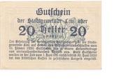 20 Heller (Linz) – reverse