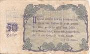 50 Pfennig (Linz - Mittelstands-Wirtschafts-Genossenschaft) – reverse