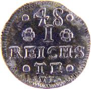 1/48 Reichsthaler - Friedrich Adolf – reverse
