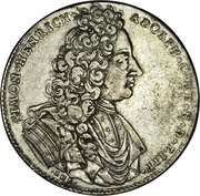 ⅔ Thaler / 1 Gulden - Simon Heinrich Adolf – obverse