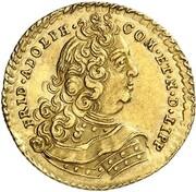 1 Ducat - Friedrich Adolf – obverse