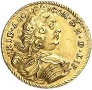 1 Ducat - Friedrich Adolf (47th Birthday) – obverse