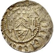 1 Sterling - Bernhard III (Blomberg) – reverse