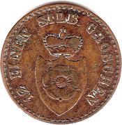 1 Pfenning - Paul Alexander Leopold II – obverse