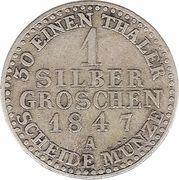1 Silber Groschen - Paul Alexander Leopold II – reverse
