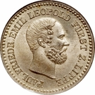 1 Silber Groschen - Paul Friedrich Emil Leopold III – obverse