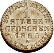 1 Silber Groschen - Paul Friedrich Emil Leopold III – reverse