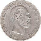 1 Vereinsthaler - Paul Friedrich Emil Leopold III – obverse