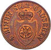 3 Pfenninge - Paul Alexander Leopold II – obverse
