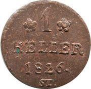 1 Heller - Paul Alexander Leopold II – reverse