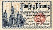 50 Pfennig (Landesbank des Fürstentums Lippe) -  obverse