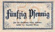 50 Pfennig (Landesbank des Fürstentums Lippe) -  reverse