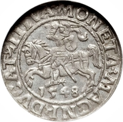 Halfgroat - Zygmunt II (Lithuania) – reverse