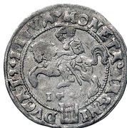 1 Groat - Zygmunt II August (3rd portrait) – reverse