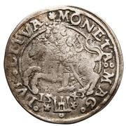 1 Groat - Zygmunt II August – reverse