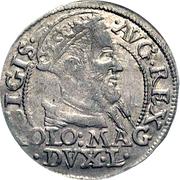 1 Groat - Zygmunt II August (2nd portrait) – obverse