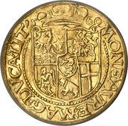 Ducat - Zygmunt II August (Wilno mint) – reverse