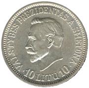 10 Litų (20th anniversary of Republic) – reverse