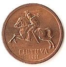 10 Centų – obverse