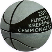1 Litas (European Basketball Championship) – reverse