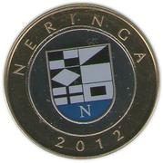 2 Litai (Neringa; colourized) – reverse