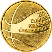 50 Litų (European Basketball Championship) -  reverse