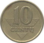 10 Centų -  reverse