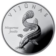 50 Litų (European Weatherfish) -  obverse