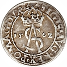 3 Groats - Zygmunt II August (Lithuania) – obverse
