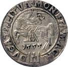 1 Groat - Zygmunt II August (4th portrait) – reverse