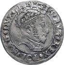 1 Groat - Zygmunt II August (3rd portrait) – obverse