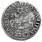 1 Groat - Zygmunt II August (1st portrait) – reverse