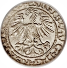 Halfgroat - Zygmunt II August (Lithuania) – obverse