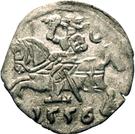 Denar - Zygmunt II August (Lithuania) – obverse