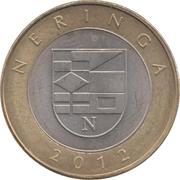 2 Litai (Neringa) – reverse