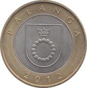 2 Litai (Palanga) -  reverse