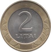 2 Litai -  reverse