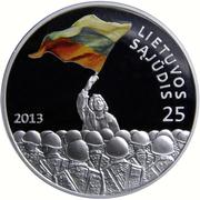 50 Litų (Lithuanian Sąjūdis) -  obverse