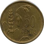 50 Centų – reverse